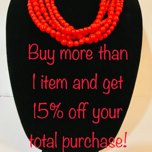 Jewelry - 15% off all bundles!!